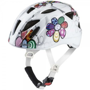 Casca Skating Copii Alpina Ximo Flash White Flower Multicolor