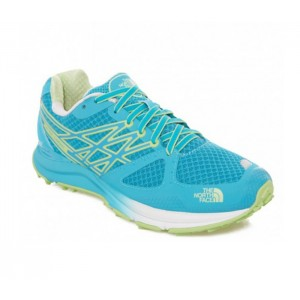 Incaltaminte Alergare The North Face W Ultra Cardiac Albastru/Verde