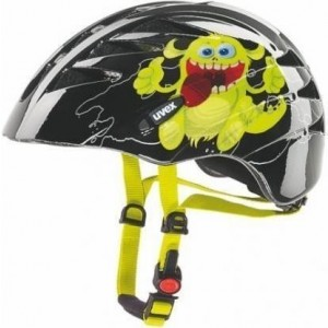 Casca bicicleta Uvex Junior Black- Yellow Print