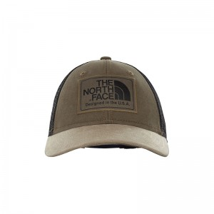 Sapca Juniori The North Face Mudder Trucker Verde / Negru