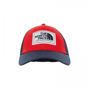 Sapca The North Face Mudder Trucker Rosu / Bleumarin