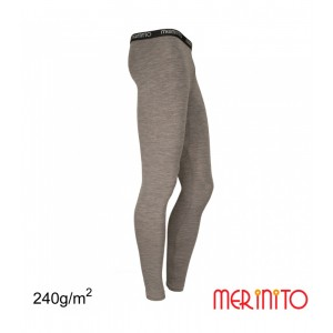 Pantaloni First Layer Merinito 230g/240g M Gri