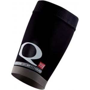 Compresie Cvadriceps Compressport Quad Black