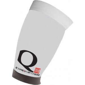 Compresie Cvadriceps Compressport Quad White
