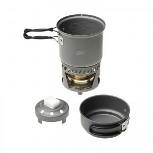 Arzator spirt lichid/solid cu set de vase Esbit CS 985 HA