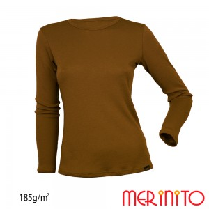 Bluza First Layer Dama Merinito185g/mp Olive