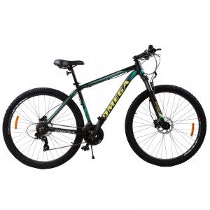 "Bicicleta Mountain Bike Omega Duke 29"" Negru / Verde / Galben"
