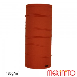 Neck Tube Merinito Merinos 185g Portocaliu