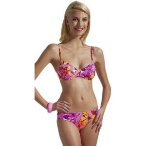 Costum de baie Fashy Ladies Bikini Roz
