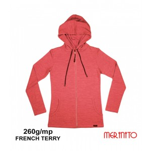 Hanorac Merinito French Terry 260g W Roz