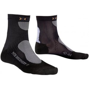 X-Socks Mountain Biking Discovery Black