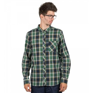 Camasa Barbati Element Buffalo LS Indigo / Verde