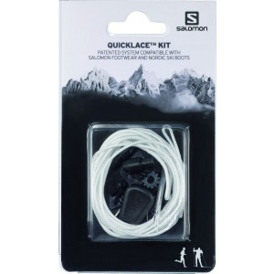Sireturi Salomon Quicklace Kit Alb