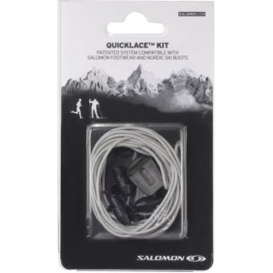 Sireturi Salomon Quicklace Kit Gri