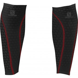 Compresie Gamba Salomon Exo Calf Long Negru