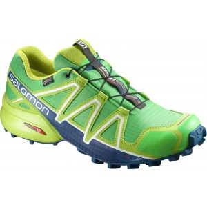 Incaltaminte Alergare Salomon Speedcross 4 GTX M Lime
