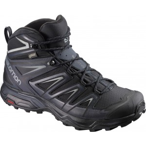 Ghete Barbati Hiking Salomon X Ultra 3 Mid GTX Negru / Gri