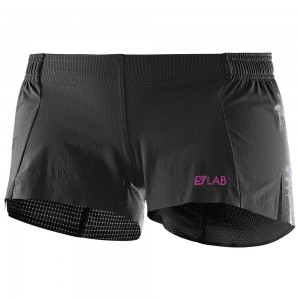 Pantaloni scurti Salomon S-Lab Light 3 W Negri
