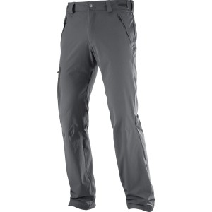 Pantaloni Barbati Hiking Salomon Wayfarer Straight Gri
