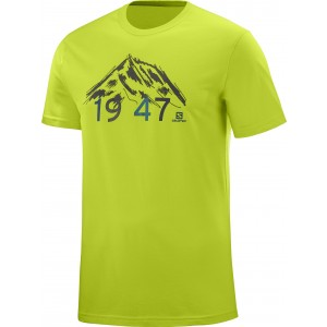 Tricou Hiking Salomon 1947 SS M Lime