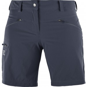 Pantaloni Scurti Hiking Salomon Wayfarer W Gri Inchis