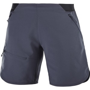 Pantaloni Scurti Hiking Salomon Outspeed W Gri Inchis