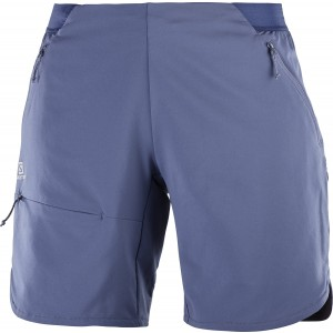 Pantaloni Scurti Hiking Salomon Outspeed W Albastru