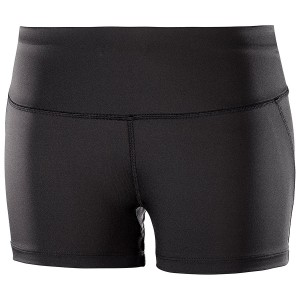Pantaloni scurti Femei Alergare Salomon Agile Short Tight Negru