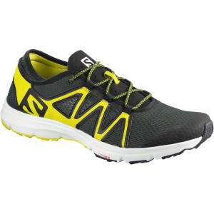 Incaltaminte Alergare Salomon Crossamphibian Swift M Verde Inchis / Galben