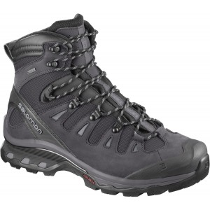 Ghete Barbati Hiking Salomon Quest 4D 3 GTX Antracit / Negru