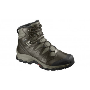 Ghete Drumetie Barbati Salomon Quest Winter GTX Maro