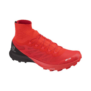 Salomon Pantofi Alergare Unisex  S/Lab Sense 8 Sg Racing Red/Bk/Wh (Rosu)