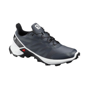 Salomon Pantofi Alergare Femei  Supercross W India Ink/White/Black (Gri)