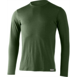 Bluza First Layer Barbati Lasting Alan Merino 160g Verde