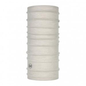 Bandana Unisex Buff Lightweight Wool Solid Cloud (Alb)