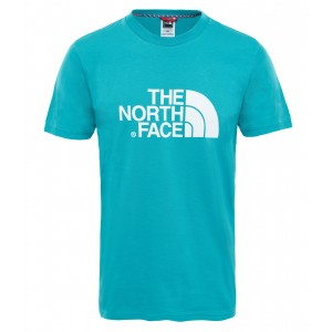 Tricou The North Face Easy S/S M Turcoaz