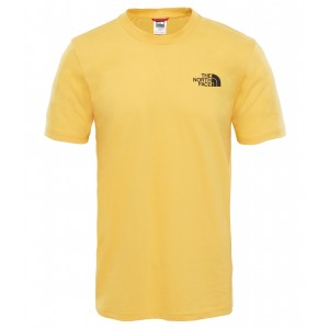 Tricou The North Face Simple Dome S/S M Galben