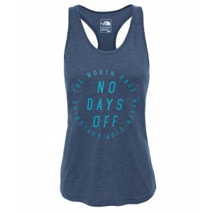 Maiou The North Face Graphic Play Hard Tank W Bleumarin