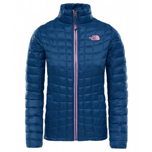 Geaca Hiking The North Face Thermoball Full Zip G Bleumarin