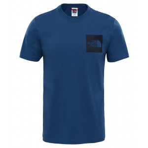 Tricou The North Face Fine S/S M Bleumarin