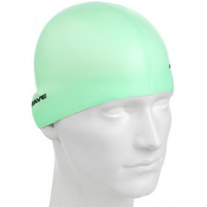 Casca inot Mad Wave Silicon Pastel Verde