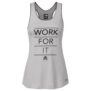 Maiou The North Face W Graphic Play Hard Tank W Gri