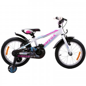 "Bicicleta Copii Omega Master 16"" 2019 Alb"