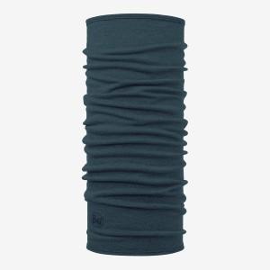 Bandana Tubulara Multisport Unisex Buff Merino Wool Midweight Neckwear Albastru