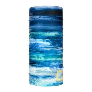 Neck Tube Multisport Unisex Buff Coolnet Uv+ Nat Geo Zankor Blue Albastru