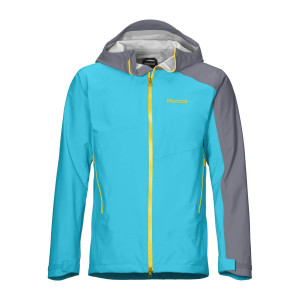 Geaca Drumetie Barbati Marmot EVODry Clouds Rest Jacket Enamel Blue/Steel Onyx (Multicolor)