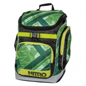 Rucsac Nitro Backpack Bandit Wicked Verde