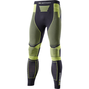 Pantaloni X-Bionic Effektor Power M Negru / Galben