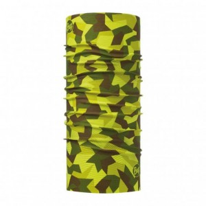 Neck Tube Buff New Original Adulti Block Camo Green