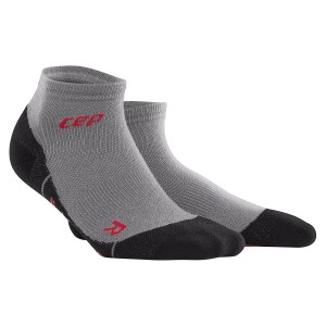Sosete CEP Dynamic+ Outdoor Light Merino Low-Cut M Gri
